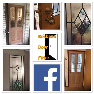 Entrance Door. Diamond pattern glazed. Supply & Install Brisbane Caboolture Caboolture Area Preview