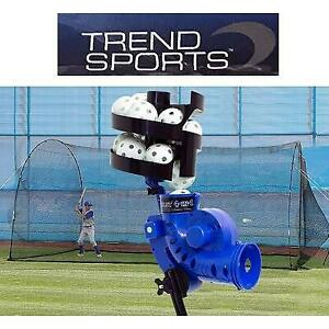 NEW TREND SPORTS SANDLOT 4 IN 1 257148681 Batting Cage Pitching Machine Ball Feeder Poly