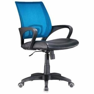 Jack Mesh Desk Chair by Zipcode Design Blue NEW