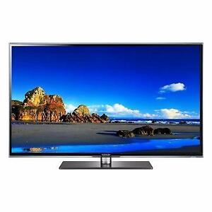 "Save Big on big screen TVs! 55"" and up from $375! No tax!"