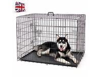 "Dog Cage/Crate: 48"" for large dog, brand new"