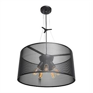 NEW IN BOX! Access Lighting 5092 Epic Five Light Round Ceili