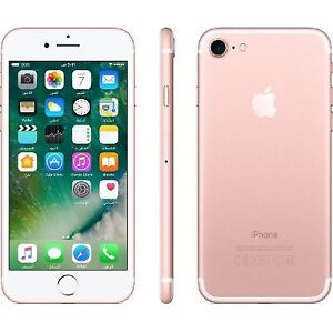 Rogers/Chatr Rose Gold iPhone 7 32G Only 575$ At CellTechNiagara