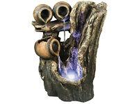 Water Feature / Fountain ( Kelkay ) Garden ~ Patio ~ Trickling Tree Pots RP £180
