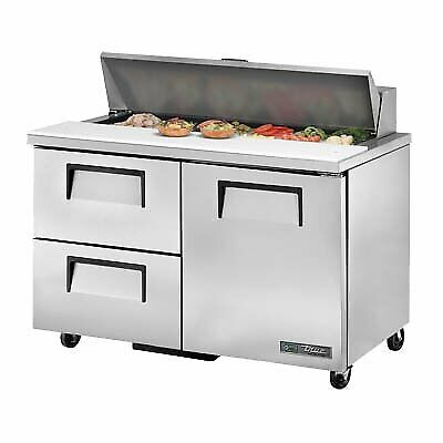 True Tssu-48-12d-2-hc 48 Sandwich Salad Unit Refrigerated Counter