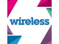 TWO 3 days weekend wireless tickets