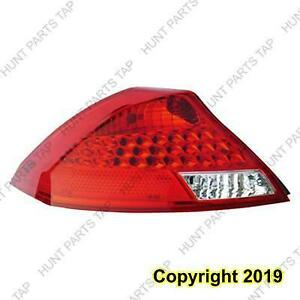 Tail Light Driver Side Coupe Ledtype High Quality Honda Accord 2006-2007