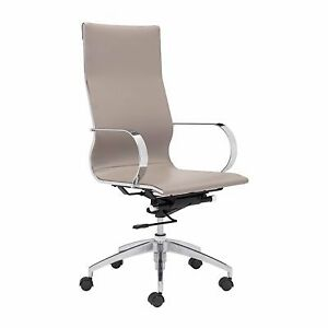 NEW in box, ZUO MODERN Taupe Desk Chair