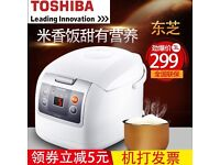 Toshiba / Toshiba RC-N10SN Japan multi-functional rice cooker smart home 2-4 people 3L