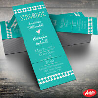 Wedding Invites/Stag and Doe Tickets
