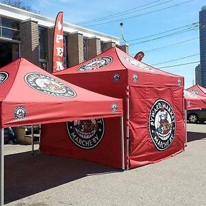 Pop-up canopy/tents/custom tents/flags