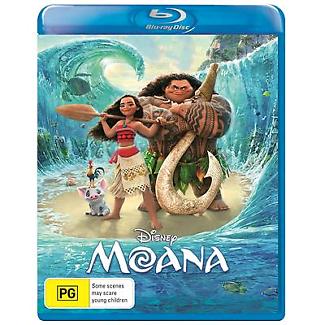 Moana Blu-ray 2017