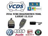 Diagnostic cable vag com hex can 12.12.0 for AUDI,VW,SEAT ,SKODA from 1994-2014