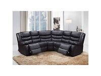 ✾ Superb Quality - Elegant New Chicago Recliner Corner Sofa Available In Stock with Warranty ✾