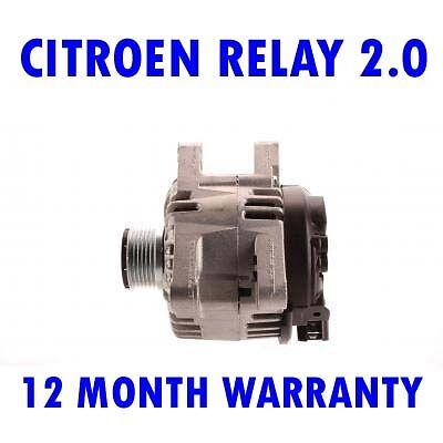 CITROEN RELAY 2.0 2.2 2002 2003 2004 2005 2006 2007 - 2015 ALTERNATOR