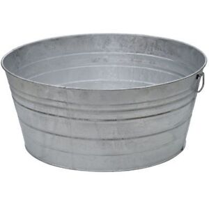 Looking for galvanized tubs!