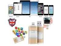 UPGRADE YOUR IPHONE / SAMSUNG TO 64GB WITH MEMORY STICK!!! ONLY ��35 Ono IN SEALED BOX BRAND NEW