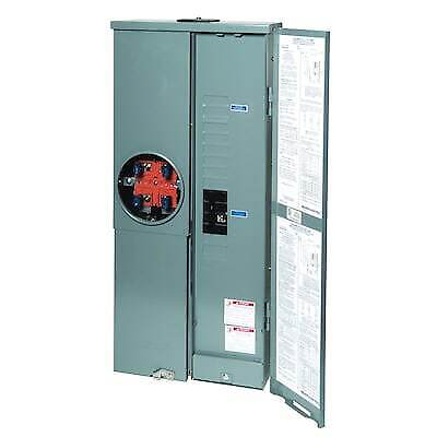 Square D 200 Amp Load Center Main Breaker Panel Meter 16-circuit 8-space Plug-in