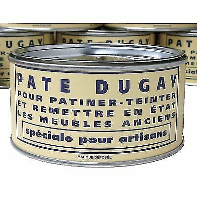 Pate Dugay Furniture Wax (Made in France)- Noir (BLACK)