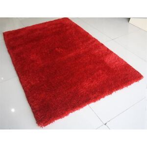 Red Hellenic soft shag Area Rug. New! 4x6 feet Kitchener / Waterloo Kitchener Area image 1