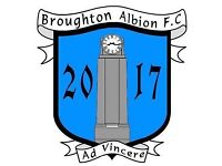 Players wanted for amateur football club