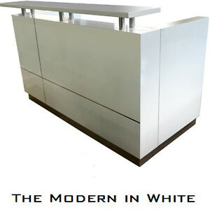 Brand New Modern Reception Desks & Counters to Meet every Budget