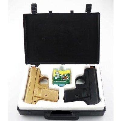 Airsoft Spy Handgun - Twin Pack Pocket Pistol Gun with Storage Case BESTSELLER