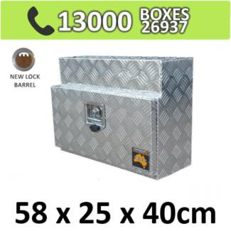 Aluminium Under Tray Body Toolboxes Ute Storage Box Truck 524S