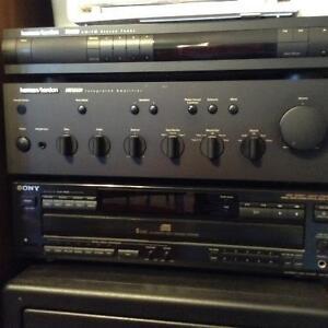 Amplificateur et hauts parleurs