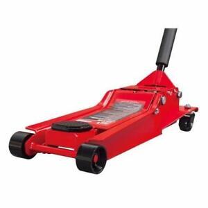 NEW BIG RED 7000 LBS LOW PROFILE STEEL FLOOR JACK CAR RACING ON SALE 3.5 TON