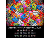 ADOBE MASTER COLLECTION CS6/CC 2018 - PHOTOSHOP, AFTER EFFECTS, PREMIERE PRO, INDESIGN, ILLUSTRATOR,