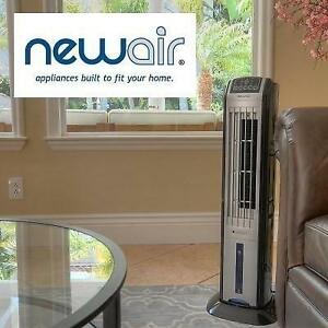 OB NEWAIR ELECTRIC TOWER FAN AF-310 246838036 EVAPORATIVE COOLING OPEN BOX