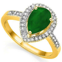 Ring2.54 Carat TW 39 Genuine Diamons solid 10k yellow Gold Ring