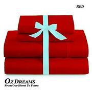 Red Queen Sheet Set