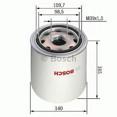 Lufttrocknerpatrone Druckluftanlage für Druckluftanlage BOSCH 0 986 628 254