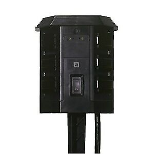 WiOn Outdoor Wi-Fi 6-Outlet Wireless and Programmable Timer