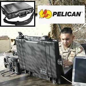 USED PELICAN BLACK COMPUTER CASE 1495 220428045 W/FOAM