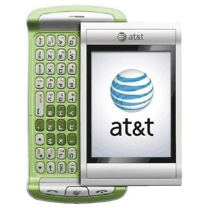 UTStarcom Quickfire GTX75 - Green (AT&T) Cellular Phone Slider Red Pocket H2O