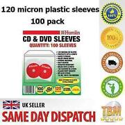 100 DVD Sleeves