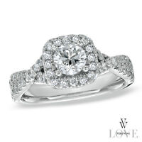 Beautiful 0.95ct Vera Wang Engagement Ring for Sale!