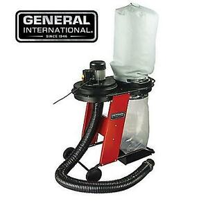 NEW PORTABLE 17 GAL DUST COLLECTOR BT8010 213445079 GENERAL INTERNATIONAL WHEELS