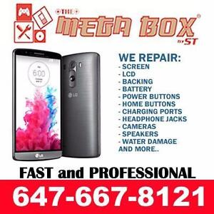[ BEST PRICE ] NEXUS 6P, 5X, 6, 5, 4 / LG G2, G3, G4, G5 CRACKED SCREEN, BATTERY, CHARGING PORT + MORE REPAIR !