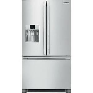 36-inch, 21.6 cu.ft. Counter-Depth French 3-Door Refrigerator with External Water and Ice Dispensing System