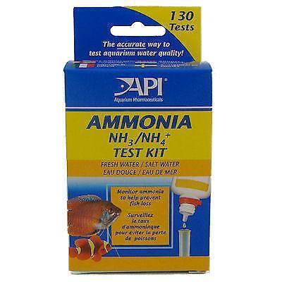 Ammonia test fish aquariums ebay for Ammonia levels in fish tank