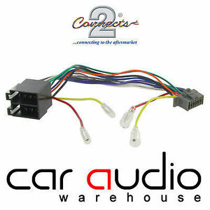 autoleads pc3 488 panasonic 16 pin iso car stereo radio wiring harness lead ebay