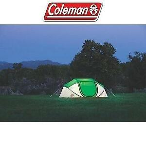 NEW* COLEMAN 4 PERSON POP UP TENT 2000014782 243420384 POP UP EXPANDABLE CAMPING
