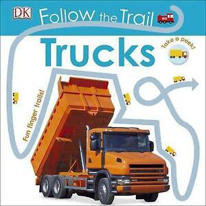 Follow the Trail Tru (Board Book)  BOOK NEW