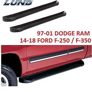 NEW LUND TRUCK RUNNING BOARDS 291120 230960979 DODGE RAM FORD F150 F2500 F350 F450 FORD RANGER TOYOTA TACOMA MULTI FIT