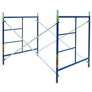 one section scaffold with platforn