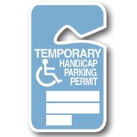 Looking for a handicap parking permit